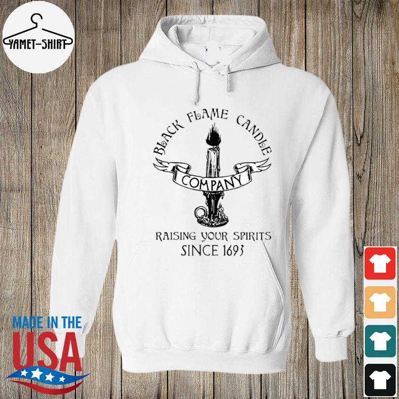 black flame candle company s hoodie