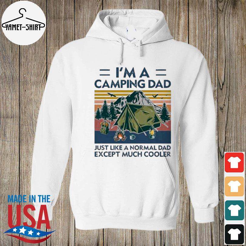 I'm a camping dad just like a normal dad except much cooler vintage s hoodie