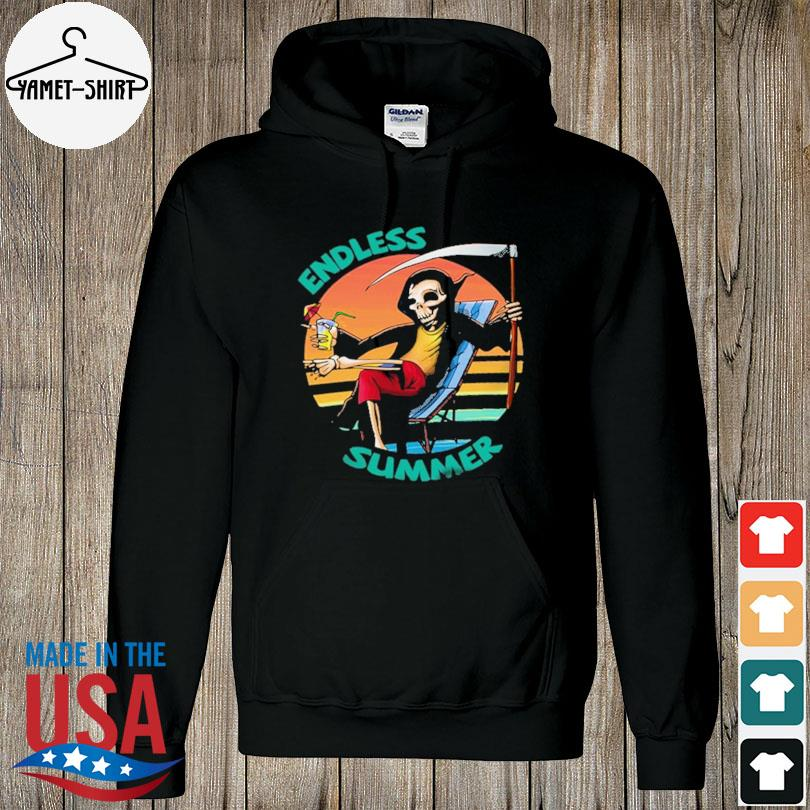 Official Death beach endless summer vacation vintage s hoodie