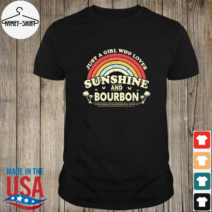 Official Just a girl who loves sunshine bourdon vintage shirt