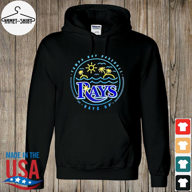 Official Tampa bay rays sunshine hometown rays up s hoodie