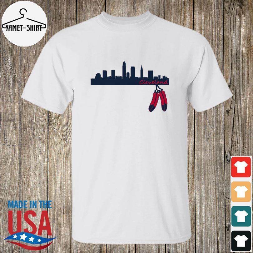 Cleveland Skyline Native American shirt