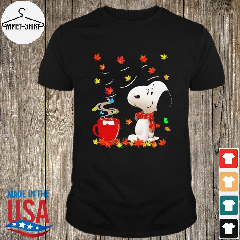 Official Snoopy drink Coffee Autumn shirt